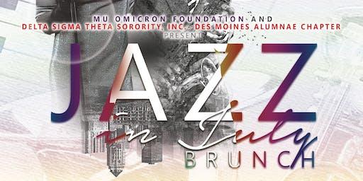 Jazz In July Des Moines 2019
