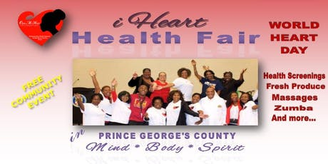 iHeart Health Fair Prince George's County tickets
