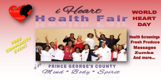 iHeart Health Fair Prince George's County