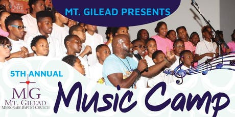 Mt. Gilead Music Camp 5 tickets
