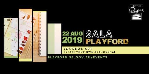 Playford SALA: Journal Art workshop