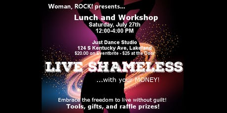 Woman, ROCK!  Live Shameless with Money! tickets