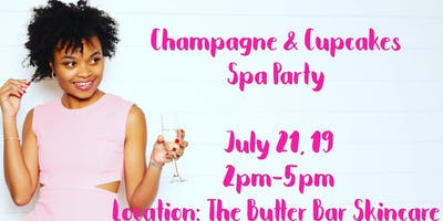 Champagne & Cupcakes Spa Party