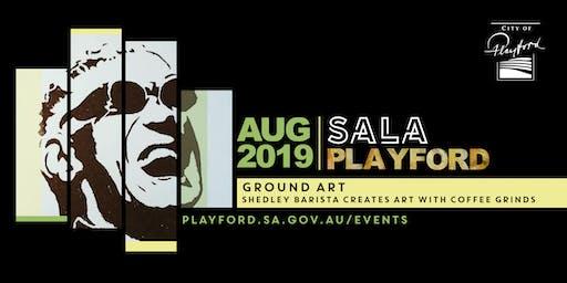 Playford SALA: Ground Art (artist in residence)