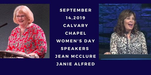 2019 Northern California Calvary Chapel Association Women's Day Conference