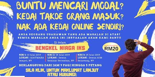 Bengkel Niaga IKS - Khas untuk Usahawan Kecil dan Sederhana di N9 & Melaka
