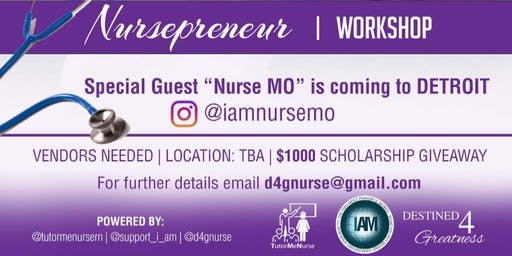 NURSEPRENEUR WORKSHOP