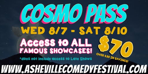 LYAO Presents The Cosmo Pass - Good For All Showcases!