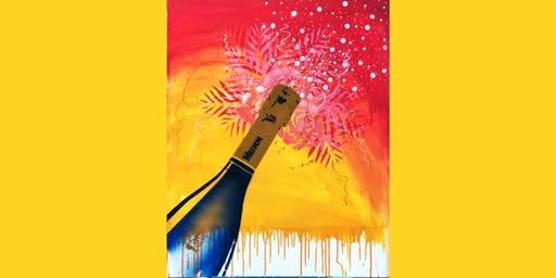 Mumm Champagne Paint and Sip Brisbane 19.9.19