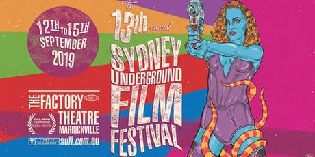 SYDNEY UNDERGROUND FILM FESTIVAL Program Reveal Party #13 tickets