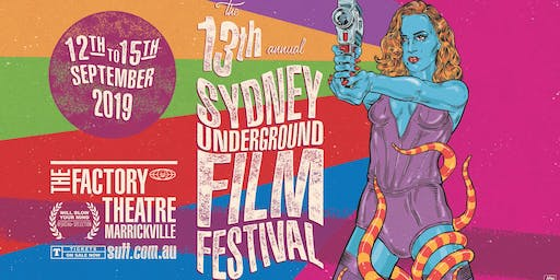 SYDNEY UNDERGROUND FILM FESTIVAL Program Reveal Party #13