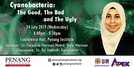 Cyanobacteria: The Good, The Bad and The Ugly tickets