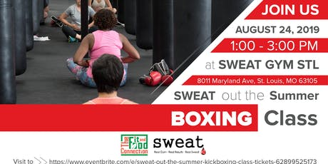 Sweat Out The Summer Boxing Class tickets