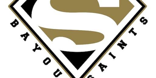 Bayou Saints Athletic Association cheer camp