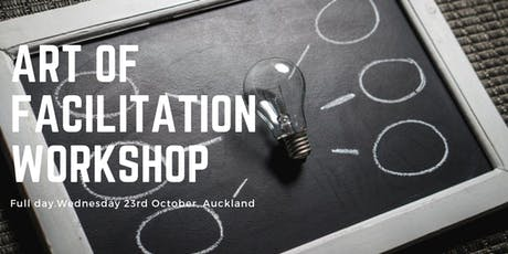 The Art of Facilitation October 2019  tickets