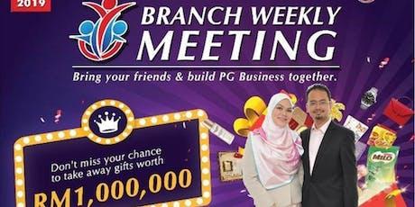 PG Kota Kinabalu Thursday Night Branch Weekly Meeting  tickets
