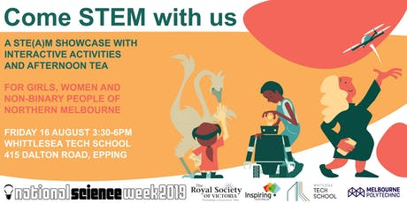 Come STEM with us tickets