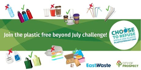 Go Plastic Free beyond July! tickets
