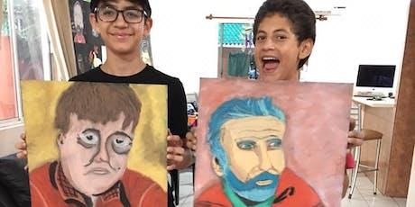 Taller de Dibujo con Gis Pastel para Niños. entradas