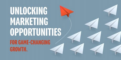 Unlocking  marketing  opportunities  for game-changing  growth. tickets