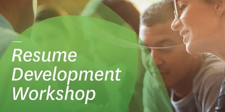Resume Development Workshop tickets