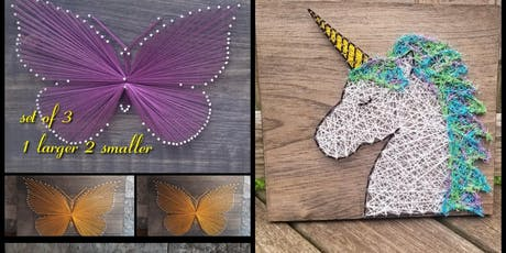 String Art class with Lisa Hackettstown tickets