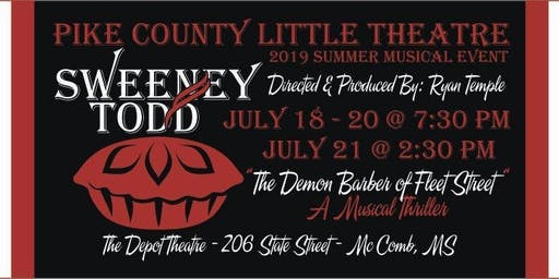 PCLT Presents: Sweeney Todd