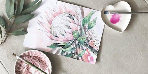 Botanical Drawing & Painting Workshop