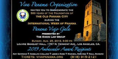 Panama Viejo Gala tickets