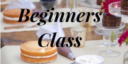 Cake Decorating: Beginners Class