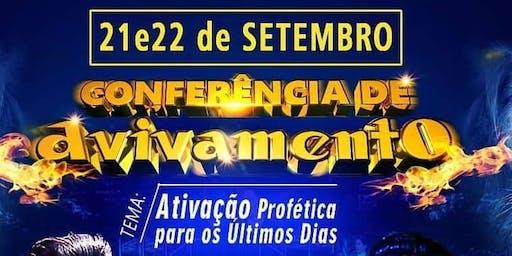 Conferência De Avivamento 21 E 22 De Setembro.