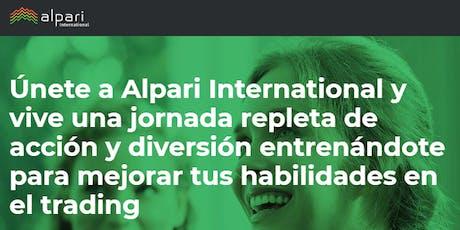 Alpari Seminario Internacional de Forex Trading en Santiago Chile entradas