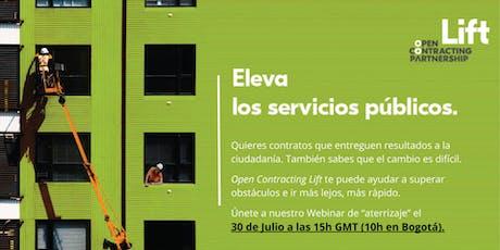 Open Contracting Lift Webinar en Español : El Aterrizaje tickets