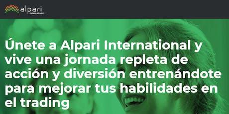 Alpari Seminario Internacional de Forex Trading en Bogota Colombia entradas