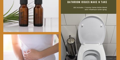 July Monthly Make & Take Bathroom Issues Event