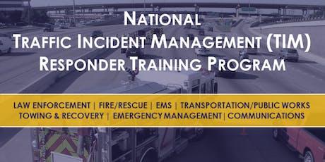 National Traffic Incident Management Training - Spotsylvania County tickets