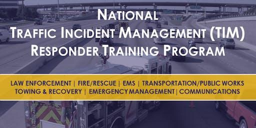 National Traffic Incident Management Training - Spotsylvania County
