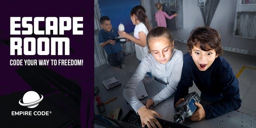 Bring Your Kids to Our Coding Escape Room on Saturdays
