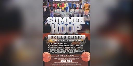 "Summer Hoop Skills Clinic: Gaston Day School (Gastonia, NC) (July 15-19th) (""5 Day Basketball Clinic"")"