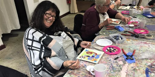 Mosaic class for Beginners at Vic Park Centre for the Arts on the 24th of August