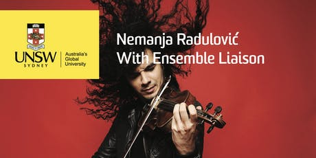 Nemanja Radulović with Ensemble Liaison tickets