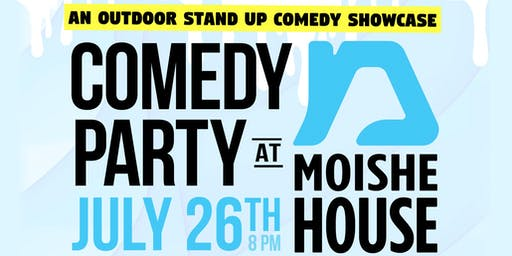 Comedy Party at Moishe House!