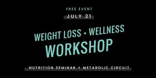 WEIGHT LOSS & WELLNESS WORKSHOP