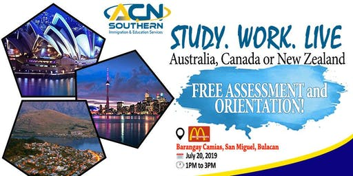 STUDY. WORK. LIVE IN AUSTRALIA, CANADA AND NEW ZEALAND FREE SEMINAR