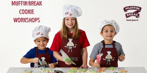 Kids Cookie Workshops with Muffin Break at Stockland Green Hills
