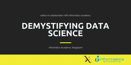 Demystifying Data Science tickets