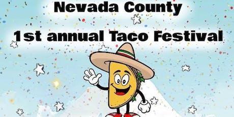 Nevada County Taco Festival  tickets
