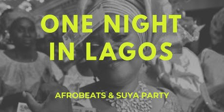One Night In Lagos tickets