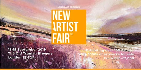 New Artist Fair 'Summer Exhibition' 13-15 September 2019 tickets