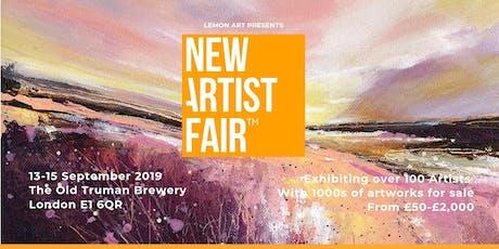 New Artist Fair 'Summer Exhibition' 13-15 September 2019 tickets